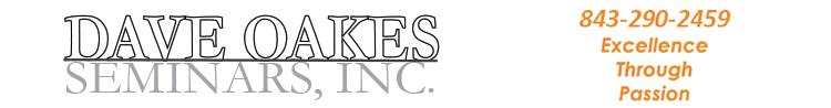 Dave Oakes Seminars